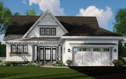 3 Bed, 3 Bath, 2453 Square Foot House Plan - #098-00313