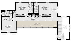 Second Floor for House Plan #3978-00217