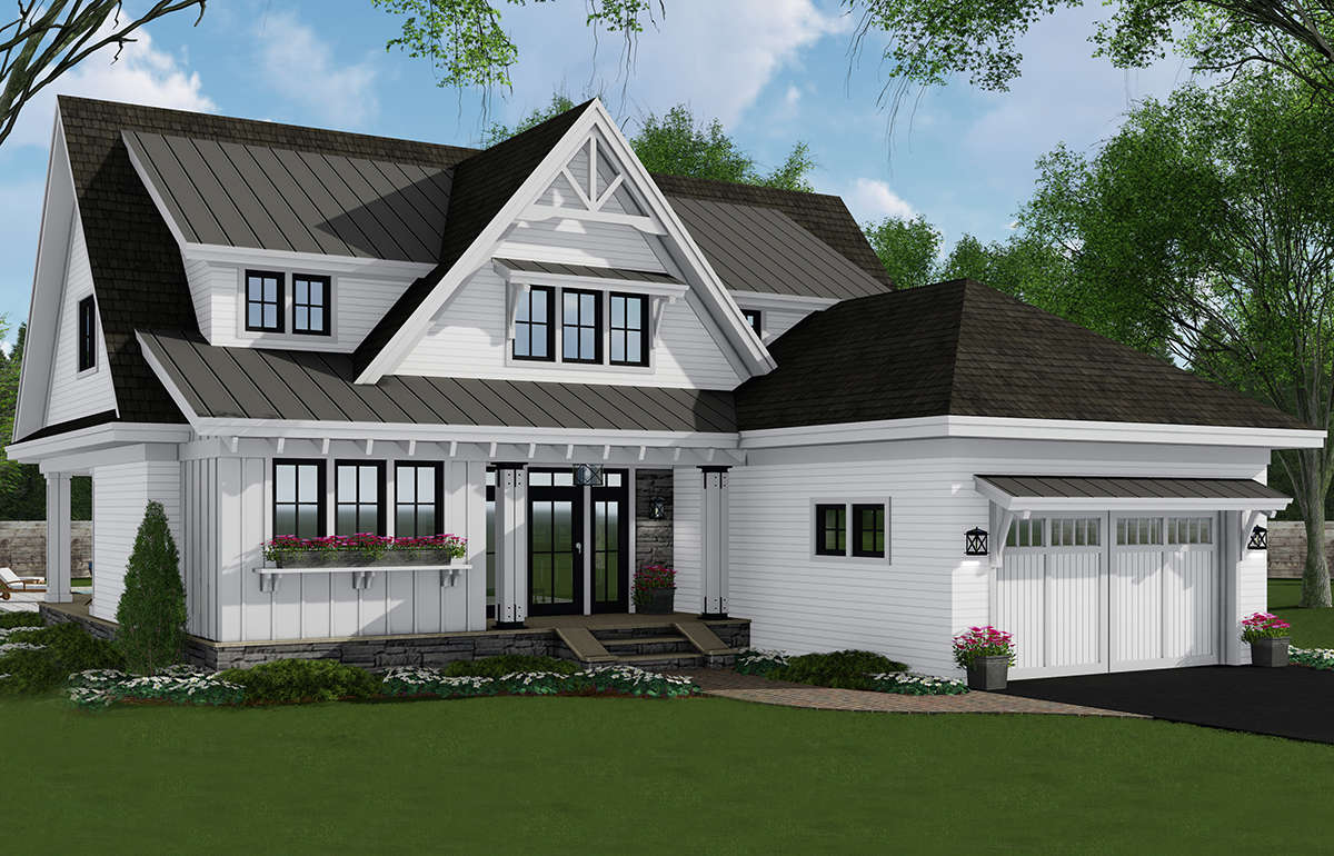 Modern Farmhouse Plan: 2,652 Square Feet, 4 Bedrooms, 3 ...