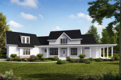 4 Bed, 3 Bath, 3968 Square Foot House Plan - #699-00180