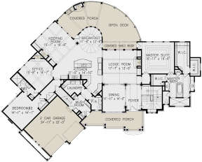Main Floor for House Plan #699-00187