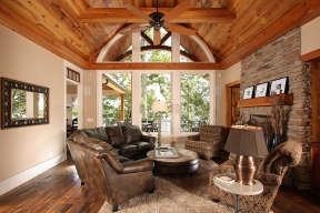Mountain Rustic  House Plan #699-00187 Additional Photo