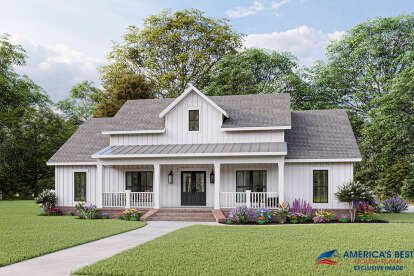 3 Bed, 2 Bath, 1800 Square Foot House Plan - #348-00285
