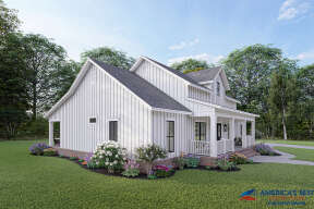 Modern Farmhouse House Plan #348-00285 Elevation Photo