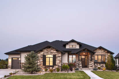 2 Bed, 2 Bath, 2422 Square Foot House Plan #5631-00097