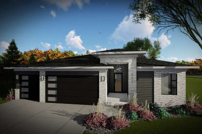 2 Bed, 2 Bath, 1484 Square Foot House Plan #1020-00323