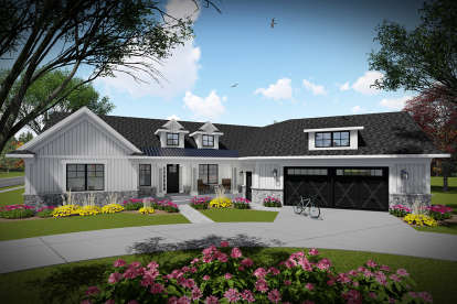 3 Bed, 2 Bath, 2150 Square Foot House Plan - #1020-00334