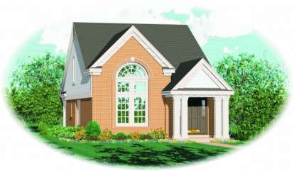 3 Bed, 2 Bath, 1547 Square Foot House Plan - #053-00091