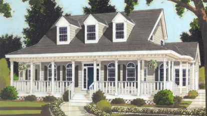 3 Bed, 2 Bath, 2252 Square Foot House Plan - #033-00031
