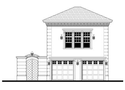 1 Bed, 1 Bath, 551 Square Foot House Plan - #028-00051