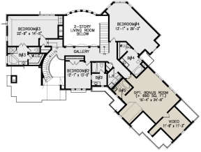 Second Floor for House Plan #699-00221
