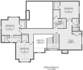 Second Floor for House Plan #5631-00106