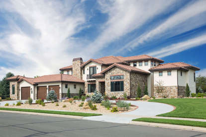 3 Bed, 3 Bath, 4851 Square Foot House Plan #5631-00114