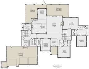 Main Floor for House Plan #5631-00114