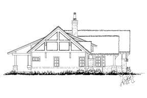 Mountain House Plan #1907-00049 Elevation Photo