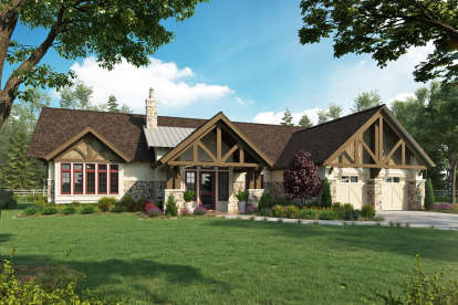 3 Bed, 2 Bath, 2248 Square Foot House Plan - #1907-00049