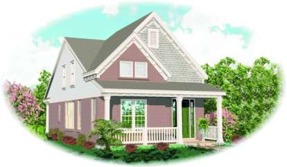 4 Bed, 2 Bath, 1849 Square Foot House Plan - #053-00109