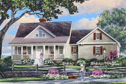 3 Bed, 3 Bath, 1903 Square Foot House Plan #7922-00237
