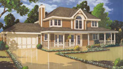 3 Bed, 2 Bath, 1522 Square Foot House Plan - #033-00034
