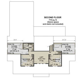 Second Floor for House Plan #098-00316