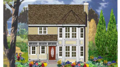 4 Bed, 2 Bath, 1569 Square Foot House Plan - #033-00035