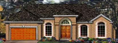 3 Bed, 2 Bath, 1816 Square Foot House Plan - #033-00041