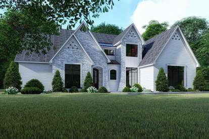 3 Bed, 4 Bath, 2641 Square Foot House Plan #8318-00125