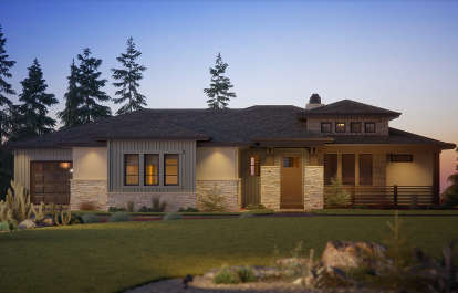 2 Bed, 3 Bath, 2492 Square Foot House Plan #5631-00116
