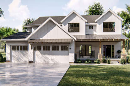 3 Bed, 3 Bath, 2723 Square Foot House Plan - #963-00332