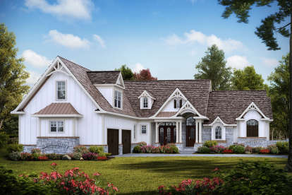 3 Bed, 3 Bath, 3297 Square Foot House Plan - #699-00250