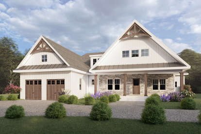3 Bed, 2 Bath, 2476 Square Foot House Plan #6849-00077