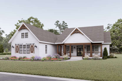 3 Bed, 2 Bath, 2371 Square Foot House Plan - #6849-00078