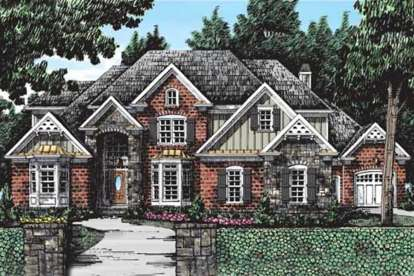 4 Bed, 4 Bath, 3775 Square Foot House Plan #8594-00323