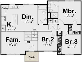 Main Floor for House Plan #963-00346