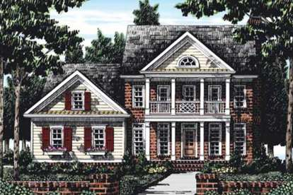 4 Bed, 3 Bath, 2234 Square Foot House Plan #8594-00338