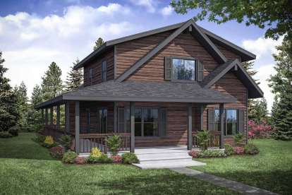 3 Bed, 2 Bath, 2060 Square Foot House Plan - #035-00839
