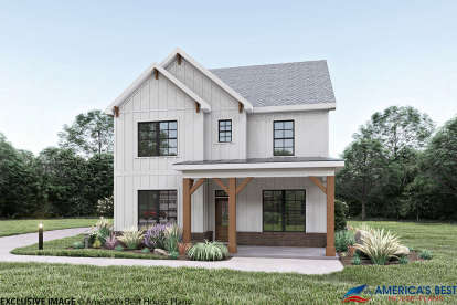 3 Bed, 2 Bath, 2258 Square Foot House Plan - #009-00278