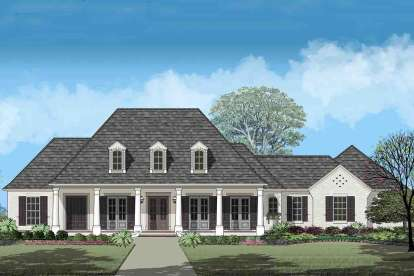 3 Bed, 3 Bath, 3161 Square Foot House Plan - #7516-00036