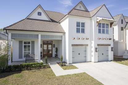 4 Bed, 3 Bath, 3254 Square Foot House Plan - #7516-00038