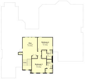 Second Floor for House Plan #7516-00039