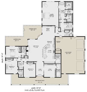 Main Floor for House Plan #940-00167