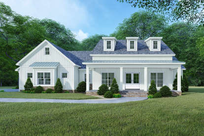 4 Bed, 3 Bath, 2220 Square Foot House Plan - #8318-00126