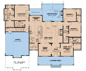 Main Floor for House Plan #8318-00126