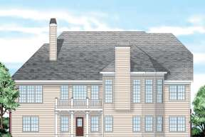 Lake Front House Plan #8594-00361 Elevation Photo