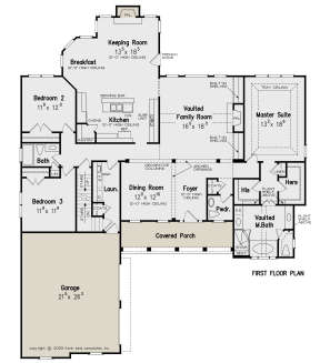 Main Floor for House Plan #8594-00361