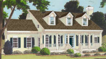 4 Bed, 2 Bath, 2353 Square Foot House Plan - #033-00046