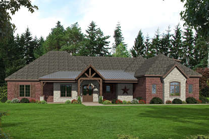 3 Bed, 4 Bath, 4392 Square Foot House Plan - #940-00173