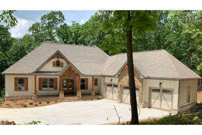 4 Bed, 3 Bath, 3938 Square Foot House Plan #286-00088