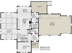Main Floor for House Plan #1637-00140