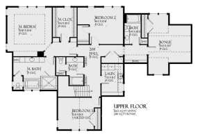 Second Floor for House Plan #1637-00140